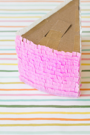 Birthday Cake Pinata Tutorial Steps