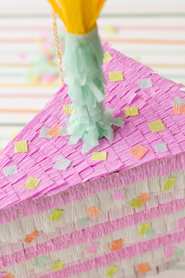 Cake Slice Pinata DIY Tutorial