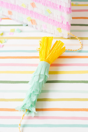 How To Make a Birthday Candle Cake Pinata