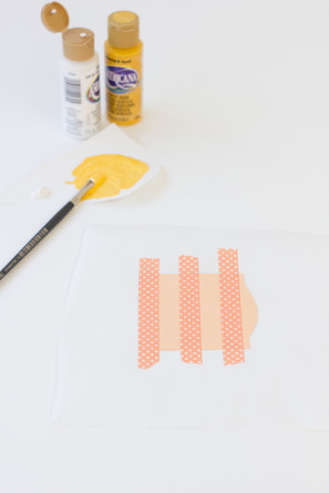 How To Paint Stripes on Paper