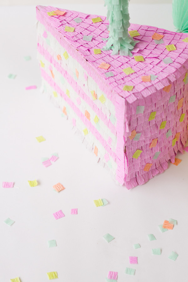 How to Make a Birthday Cake Pinata