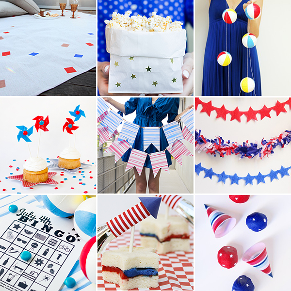 Last Minute July 4th DIY Projects