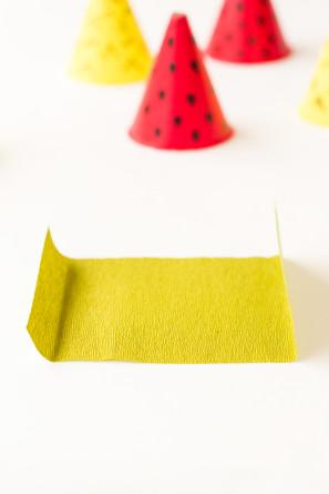 Mini Fruit Party Hat DIY