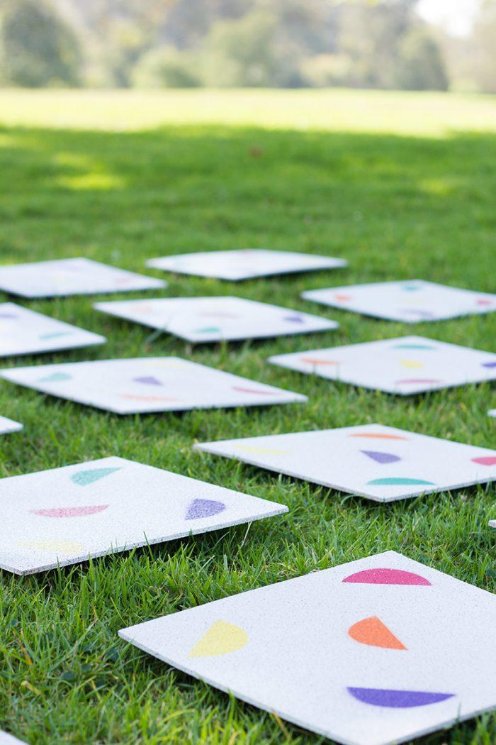 Summer Lawn Matching Game DIY