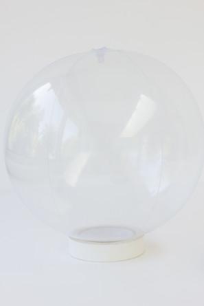 Clear Beach Ball DIY