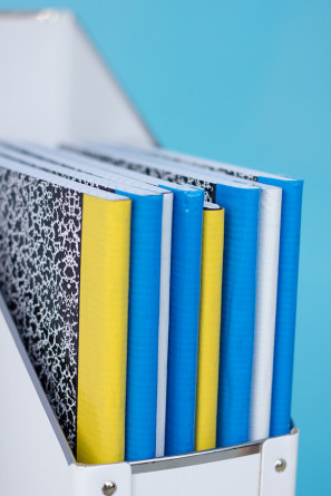 DIY Duct Tape Notebooks