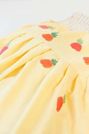 DIY Pineapple Party Dress