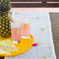 DIY Pineapple Table Runner