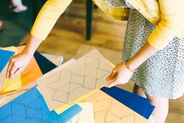 Geometric Paperfold Templates