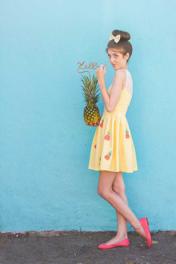 How To Make a Pineapple Dress