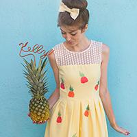 DIY Pineapple Dress