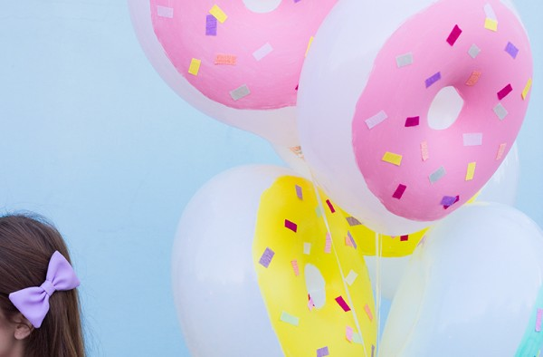 Donut Balloons DIY
