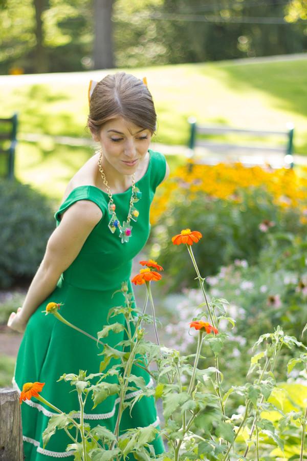 Garden Wedding Fashion Ideas
