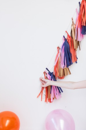 How To Make a Number with Tassel Garland