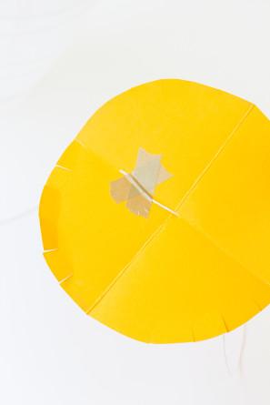 Paper Lantern Pineapple Pinata DIY