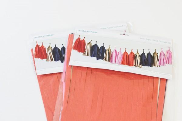 The Flair Exchange Tassel Garland Kit