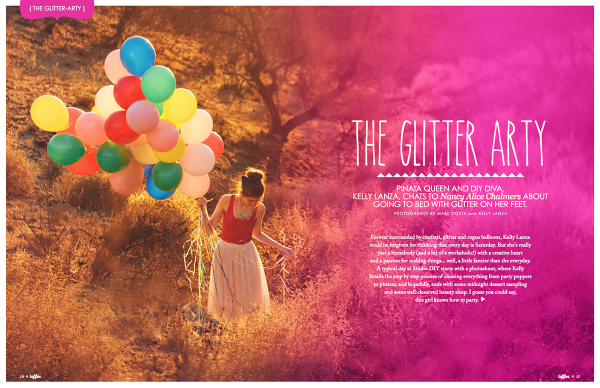 The Glitter Arty Studio DIY and Toffee Magazine