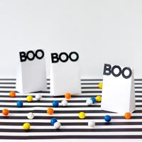 Boo! Halloween Treat Bags