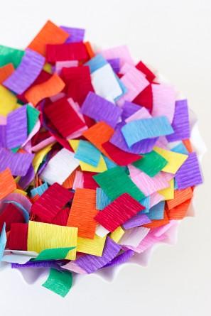 Crepe Paper Sprinkles