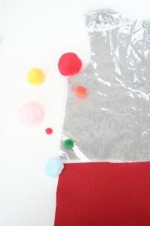DIY Gumball Costume Step