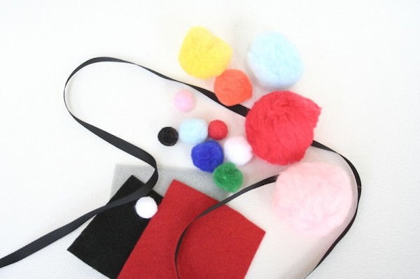 DIY Gumball Costume Supplies