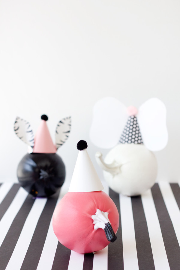 DIY Party Animal Pumpkins