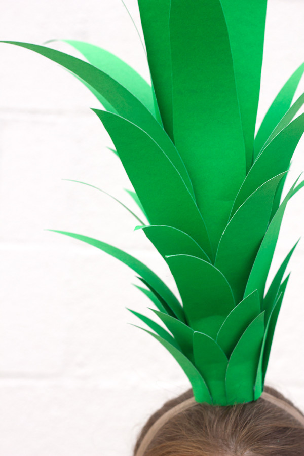 Pineapple Costume Topper