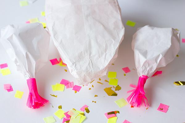 DIY Confetti Stuffed Turkey
