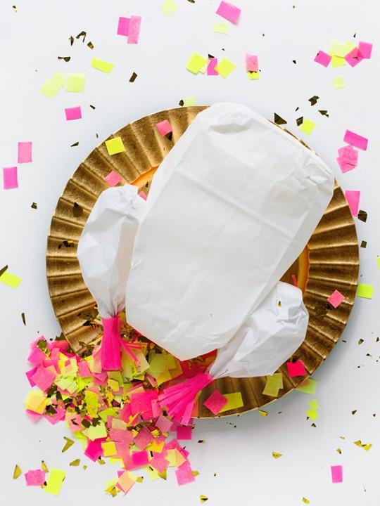 DIY Confetti-Stuffed Turkey