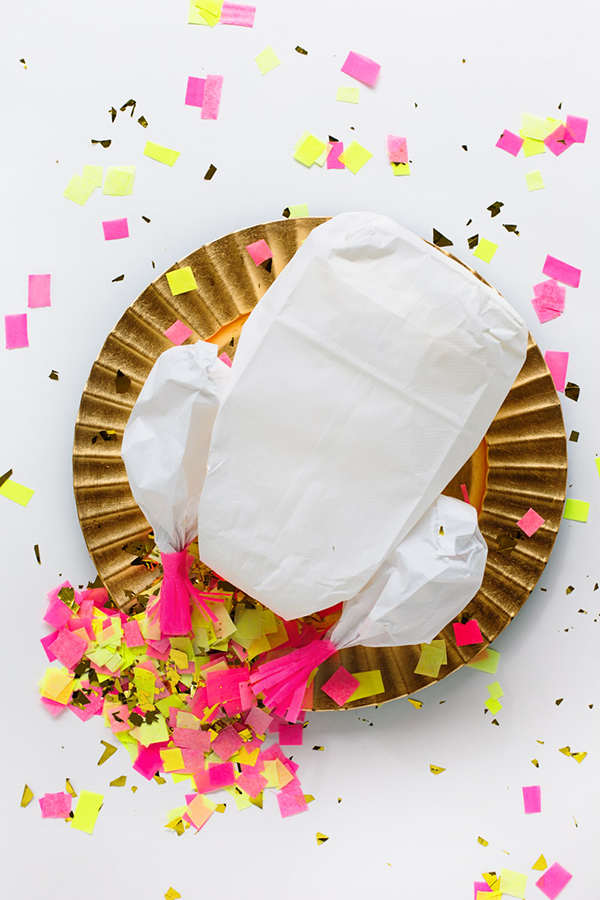 DIY Confetti Stuffed Turkey