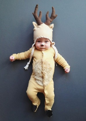 DIY Deer Costume from Jill Thomas