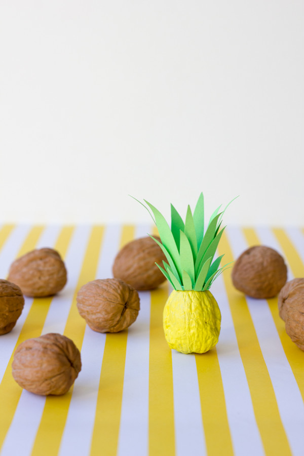 DIY Itty Bitty Pineapples