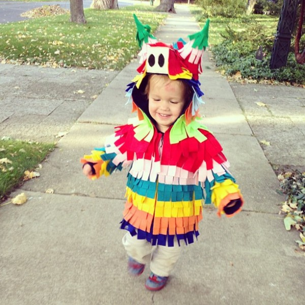 DIY Pinata Costume from Snow and Graham