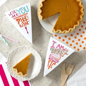Leftover Pie Labels for Thanksgiving (Free Printable!)