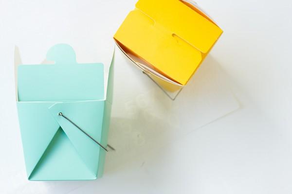 Take-Out Box Advent Calendar