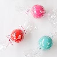 DIY Candy Ornament Favors