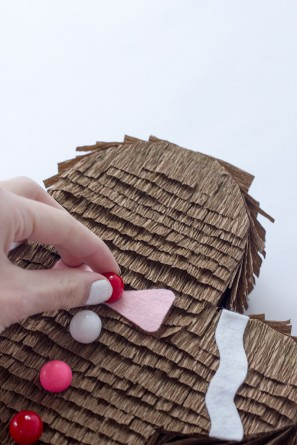 DIY Gingerbread Man Piñata