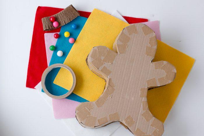 Gingerbread Man Piñata DIY
