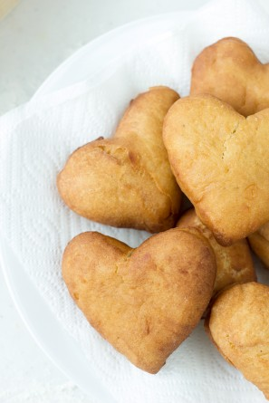 How To Make Heart Donuts