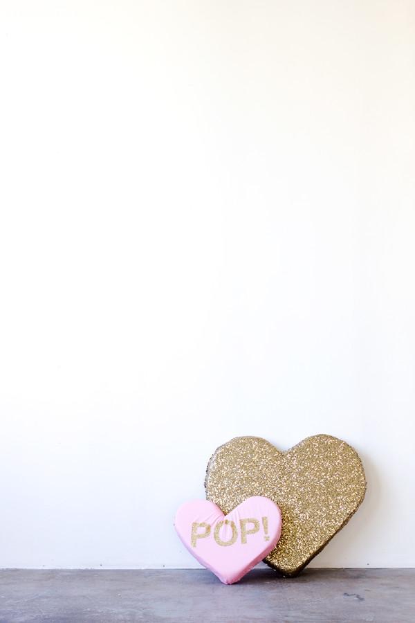 DIY Plush Hearts
