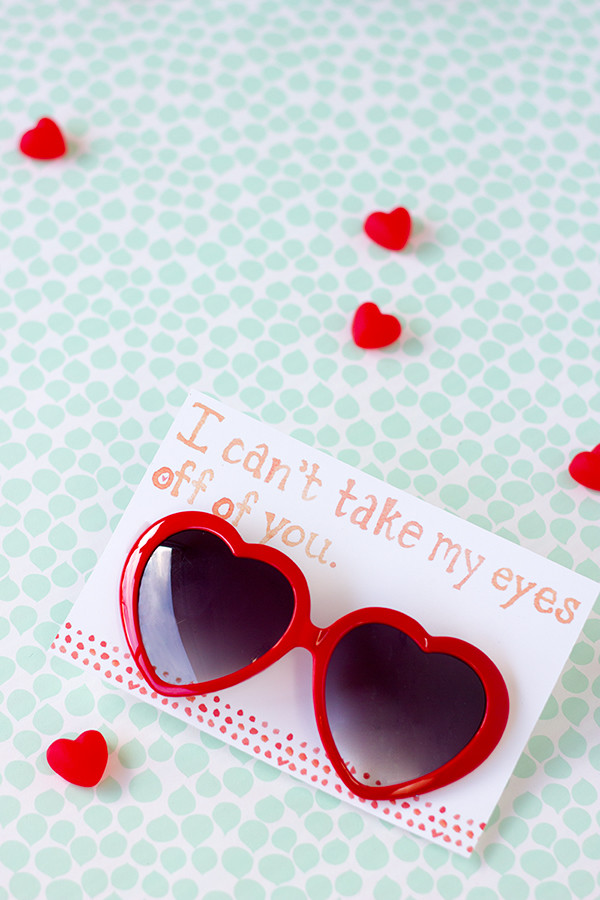 Free Printable Heart Sunglasses Valentine