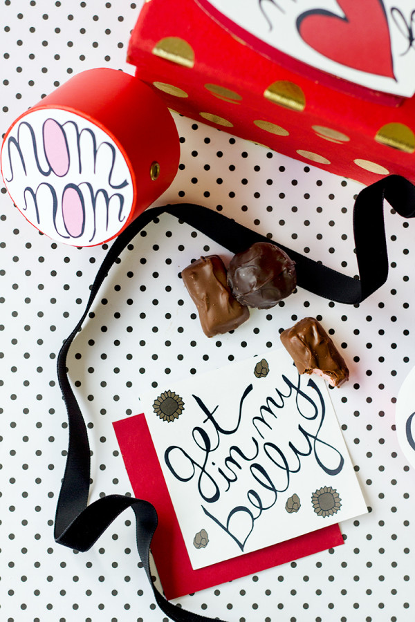 Valentine's Day Chocolates Free Printables