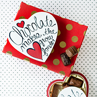 Valentine's Day Chocolate Box Makeover (Free Printables!)