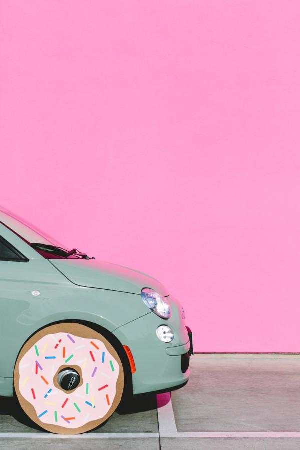 A Donut Car!
