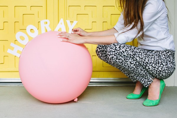 DIY Pop-Up Message Balloons
