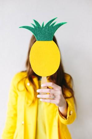 Pineapple Photo Prop
