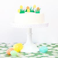 DIY Easter Egg Hunt Cake