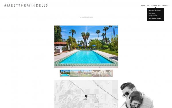 Squarespace Wedding Website Gallery
