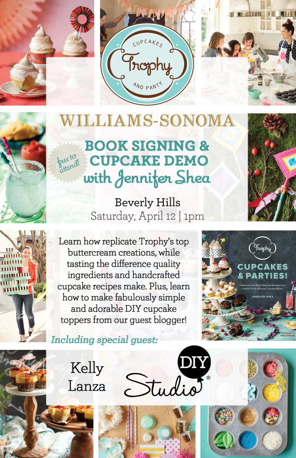 Trophy Cupcakes Book Signing and Cupcake Demo