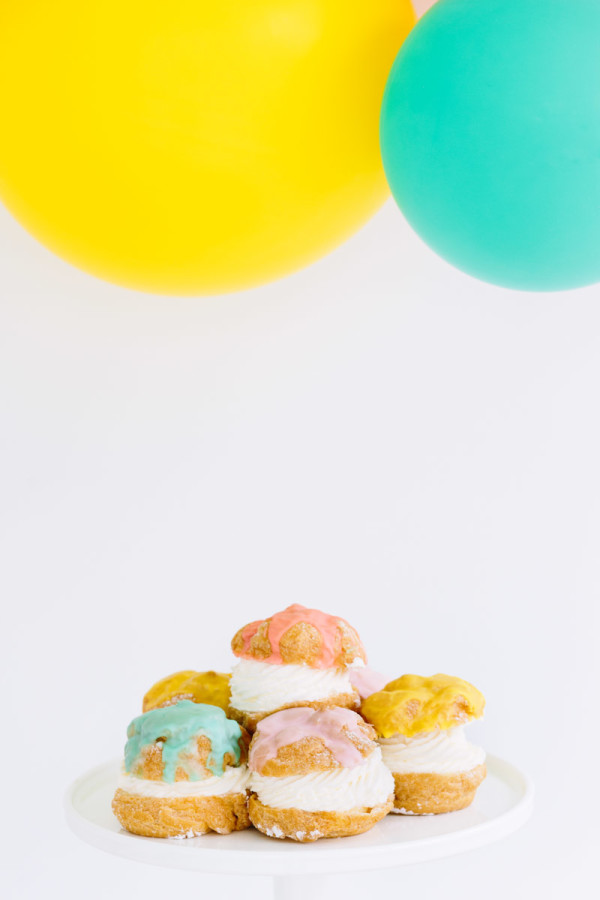 Colorful Creme Puffs
